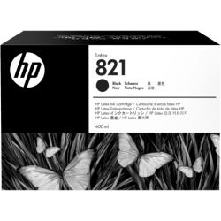 HP 821A 400ml Black Latex Ink Cartridge