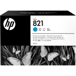 HP 821A 400ml Cyan Latex Ink Cartridge