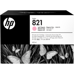 HP 821A 400ml Lt Magenta Latex Ink Cartridge