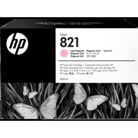 HP 821A 400ml Lt Magenta Latex Ink Cartridge