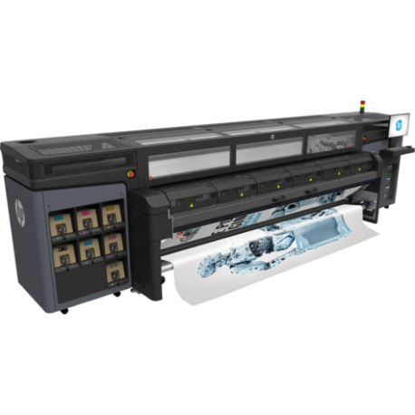 HP Latex 1500 Roll to Free Fall