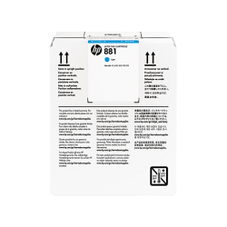 HP Latex 881 5L ink cartridge Cyan