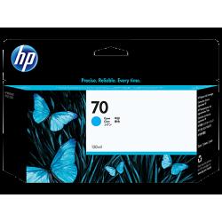 HP 70 130-ml Pigment Cyan Ink Cartridge