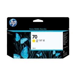 HP 70 130-ml Pigment Yellow Ink Cartridge