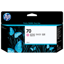 HP 70 130-ml Pigment Light Magenta  Ink Cartridge