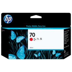 HP 70 130-ml Pigment Red Ink Cartridge